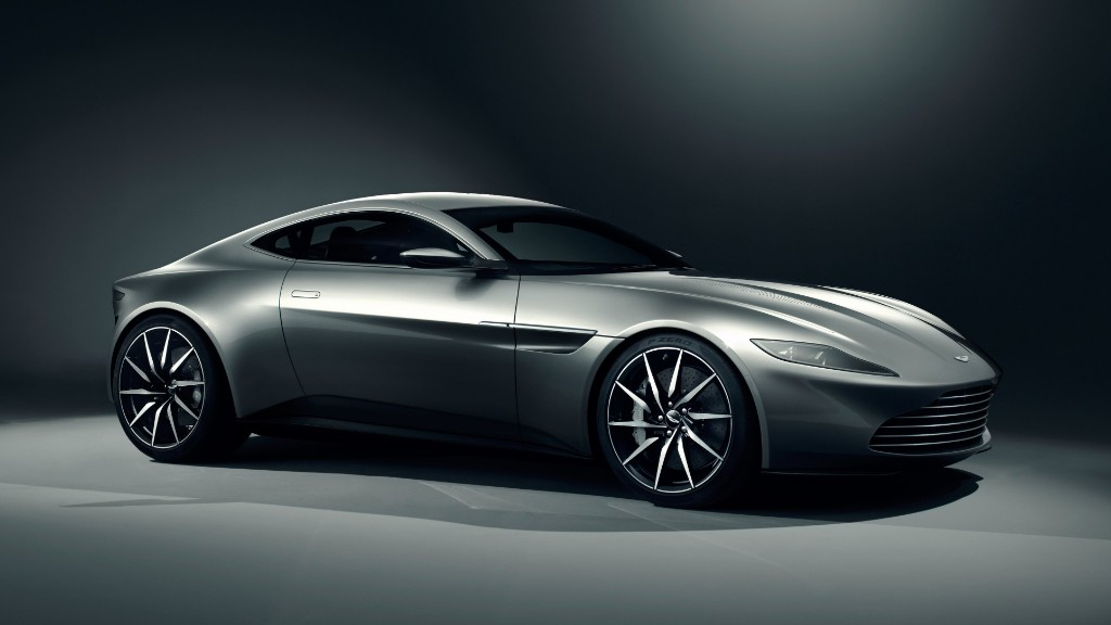 James Bond's new car unveiled