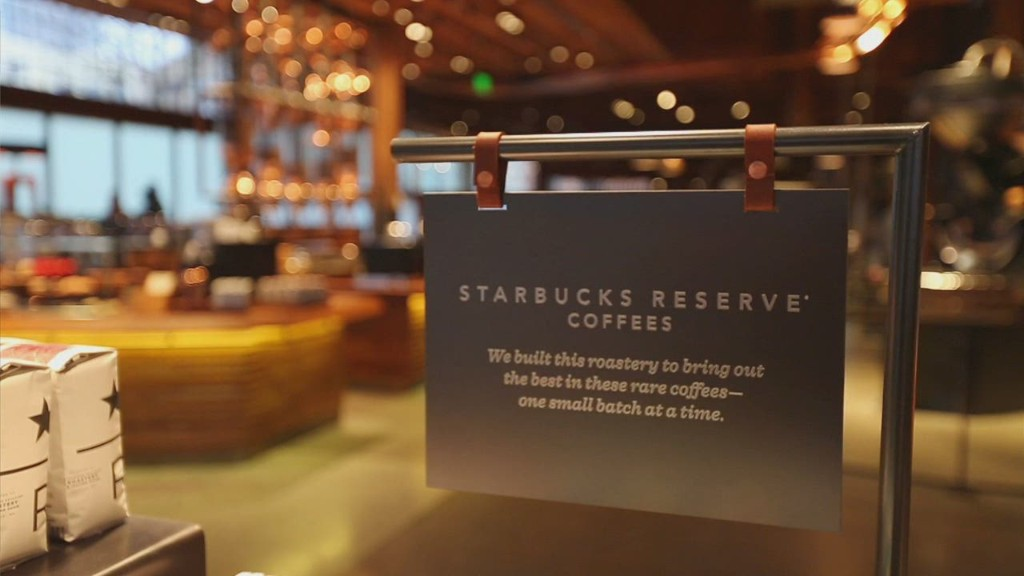 Starbucks' new 'Willy Wonka of coffee'