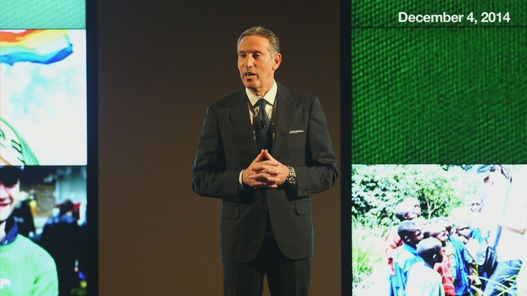Howard Schultz's inspiring challenge to corporate America