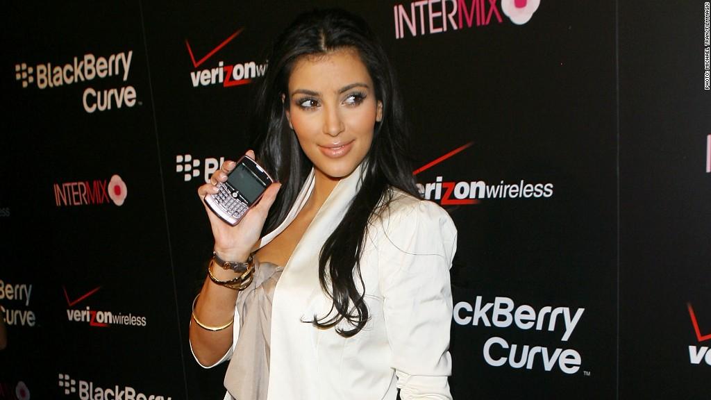 blackberry kim kardashian