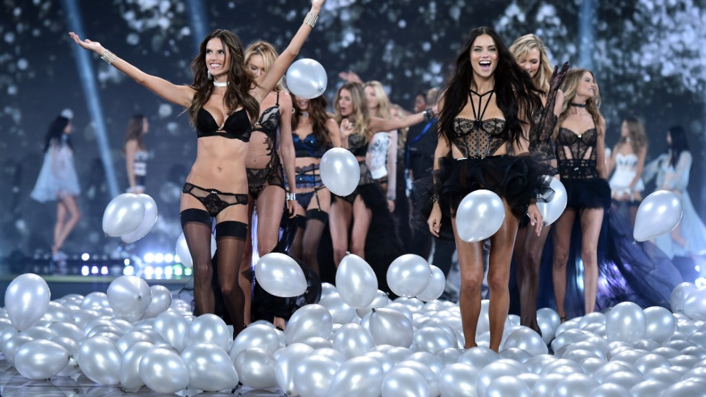 Victoria's Secret's million dollar Angels