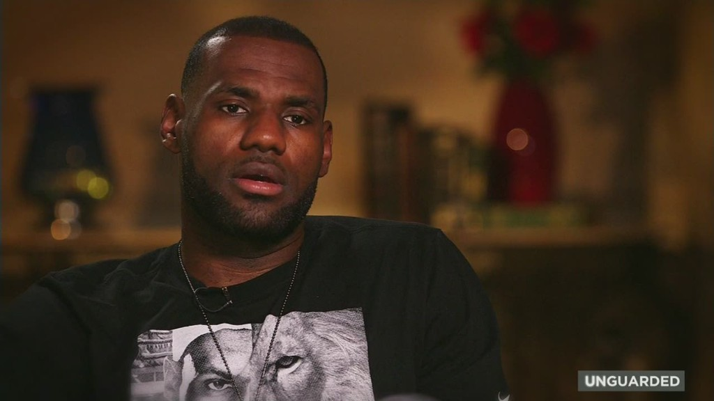 Why LeBron James speaks up on race issues