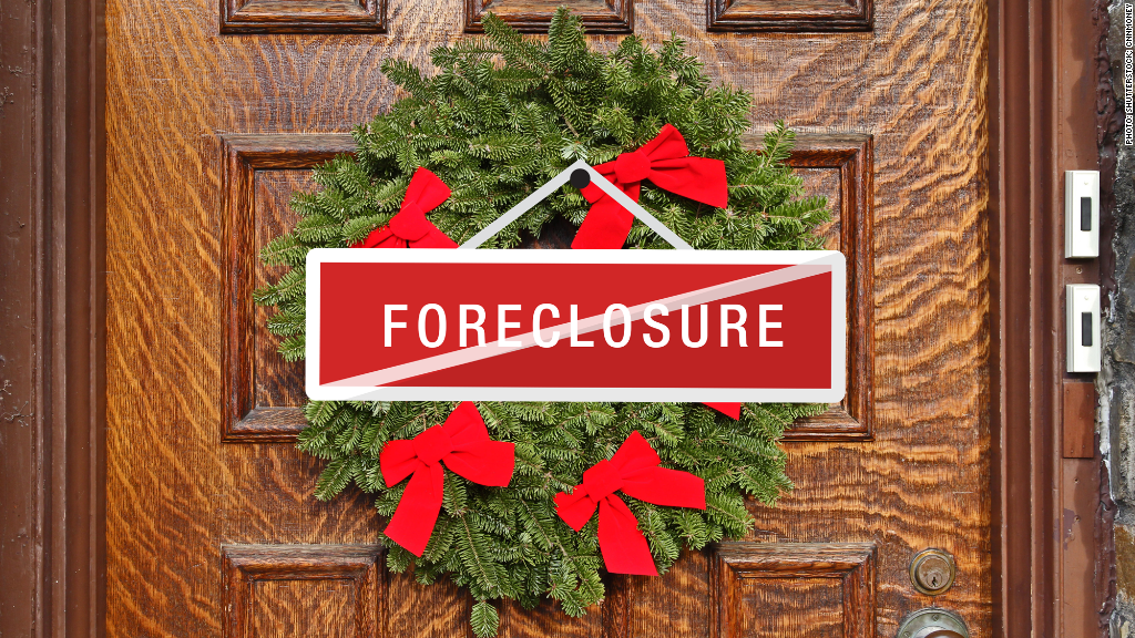 holiday foreclosure hold