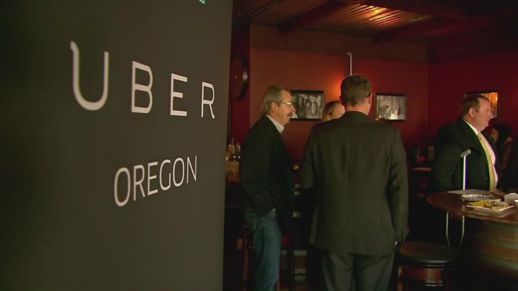 Portland sues Uber