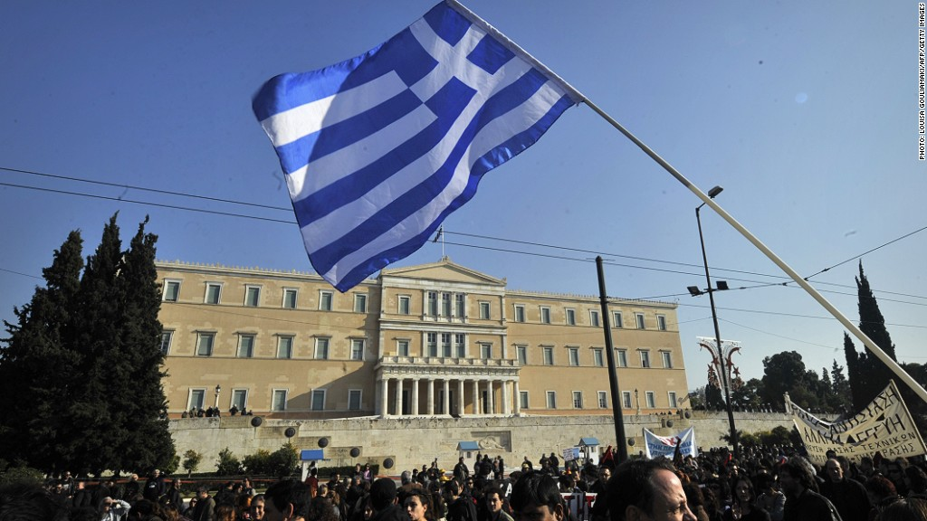 greek stock plunge elections