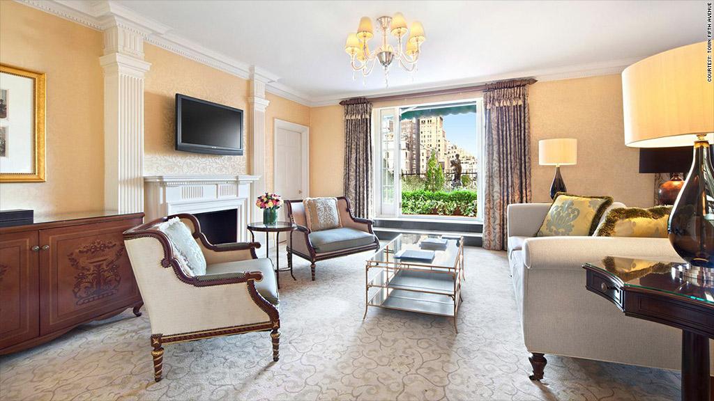 pierre rental living room