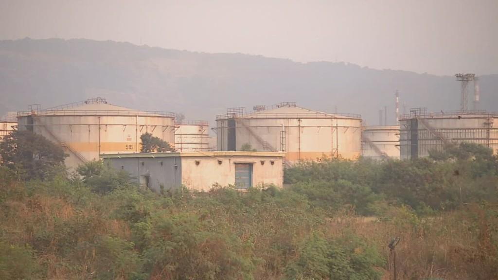 India's oil spoils