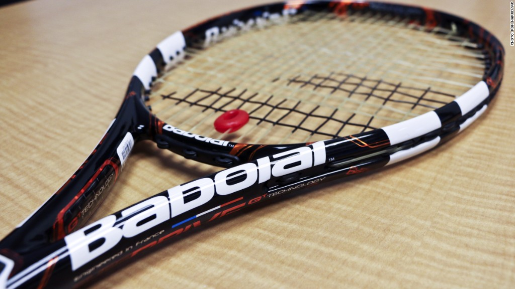 babolat play pure drive tennis racket 299 36 coolest gadgets of 2014 cnnmoney. Black Bedroom Furniture Sets. Home Design Ideas