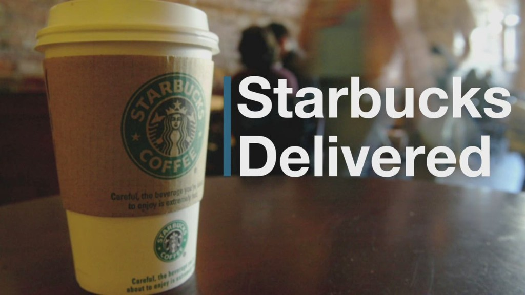 Starbucks brews up delivery, but not for free