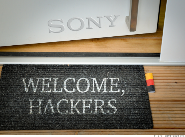 welcome hackers sony