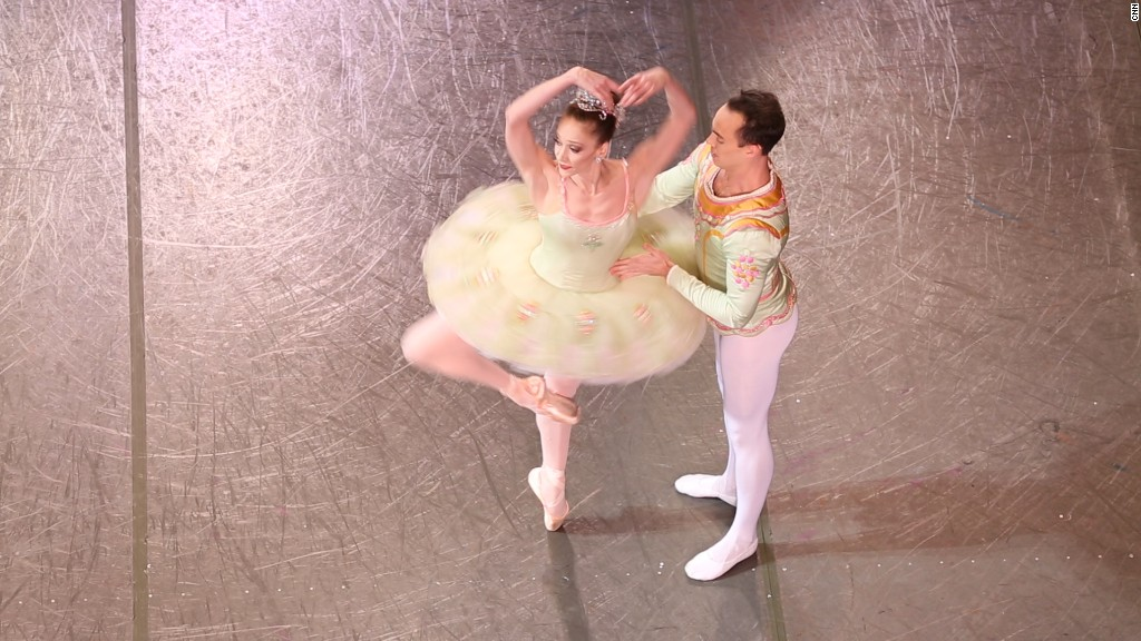 24 hours with a Nutcracker Ballerina