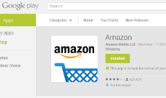 Google pulls Amazon app from Play Store