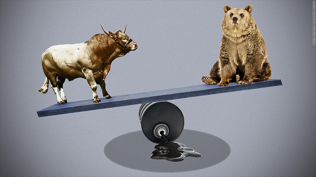 bull bear oilscale