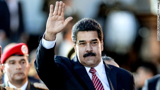 Maduro warns Trump not to ban Venezuelan oil