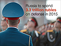 Russia is buying weapons - a lot of them