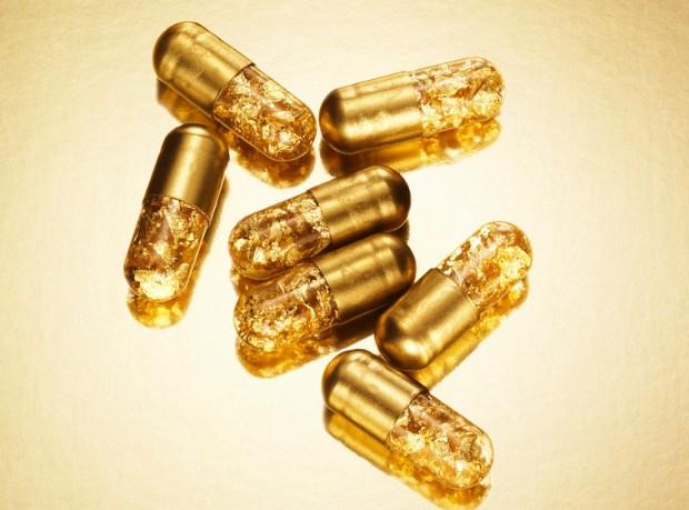 gold pills