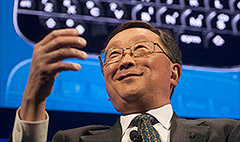 BlackBerry ending year on sour note