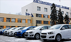 GM halts deliveries to Russia