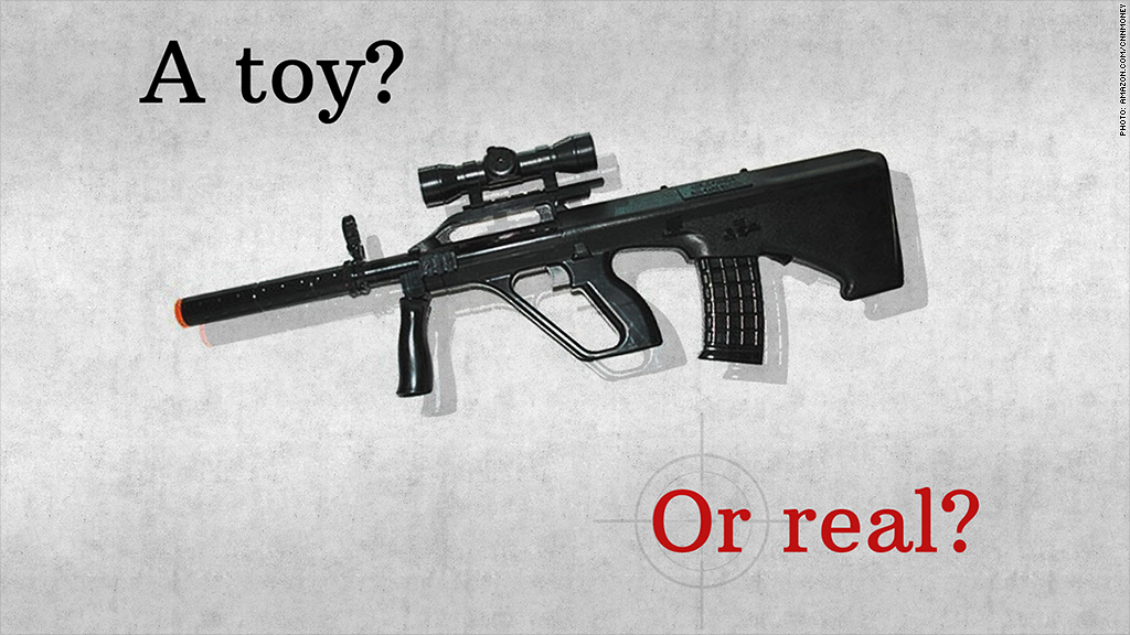 Toy Guns vs Real Guns Toy Gun if You Said Real