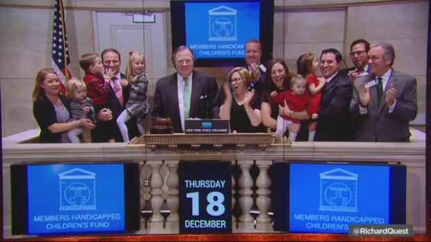 Best day for stocks in 2014