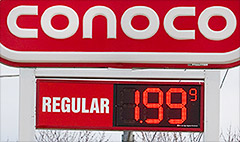 This city is the capital of cheap gas