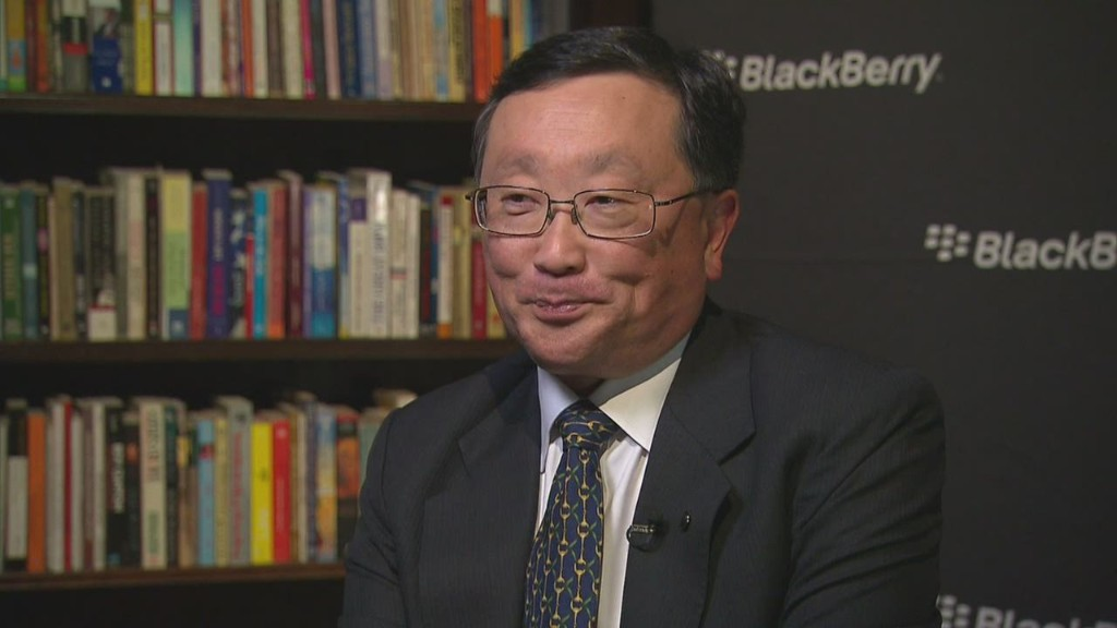 Blackberry CEO: 'I don't know how to be sexy'