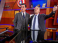 'Colbert Report' says goodbye with record ratings