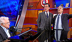 'Colbert Report' finale draws record ratings
