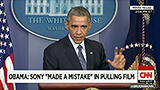 Obama: Sony made a 'mistake' in pulling film