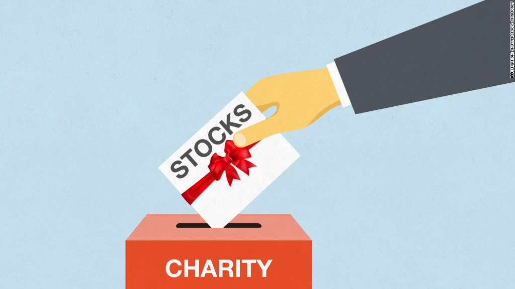 Stock options donate
