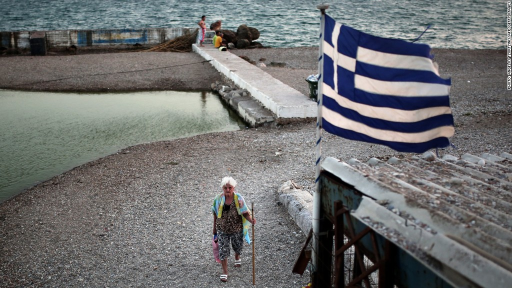 Greeks hope left-wing Syriza party brings change