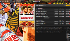 Rogen, Franco film pirated 750,000 times