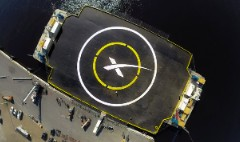 SpaceX to land a rocket on a tiny ship