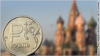 russia ruble foreign reserves