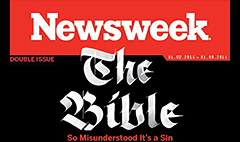 The Bible is a big seller for Newsweek