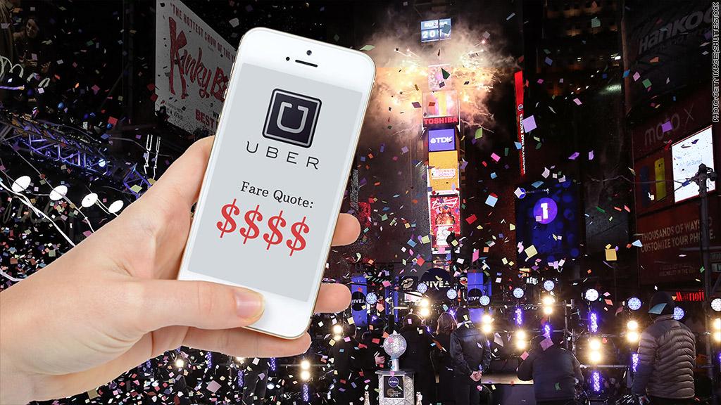 uber nye fare surge