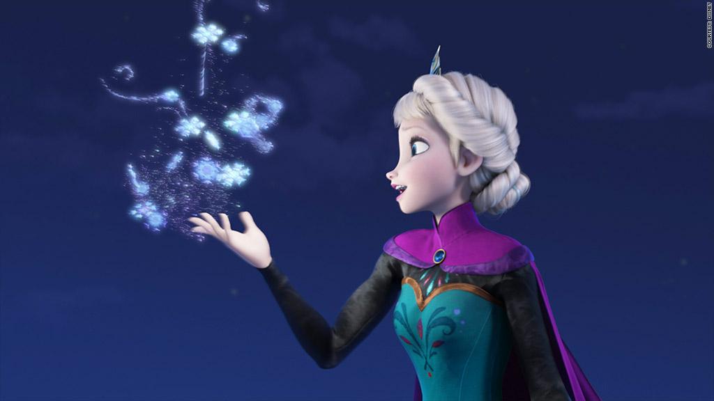 frozen elsa snowflake