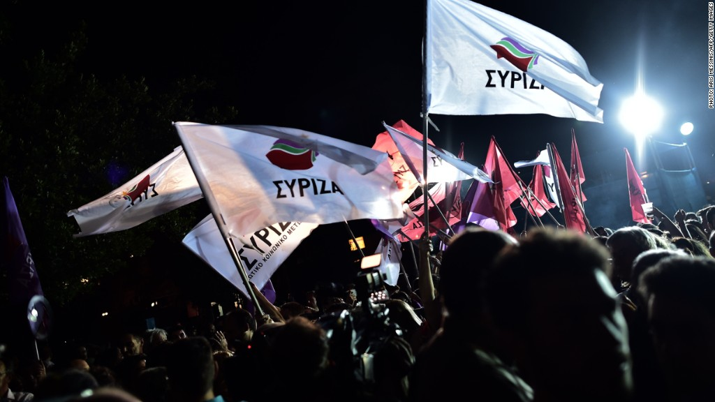 What does a Syriza win mean for Greece?