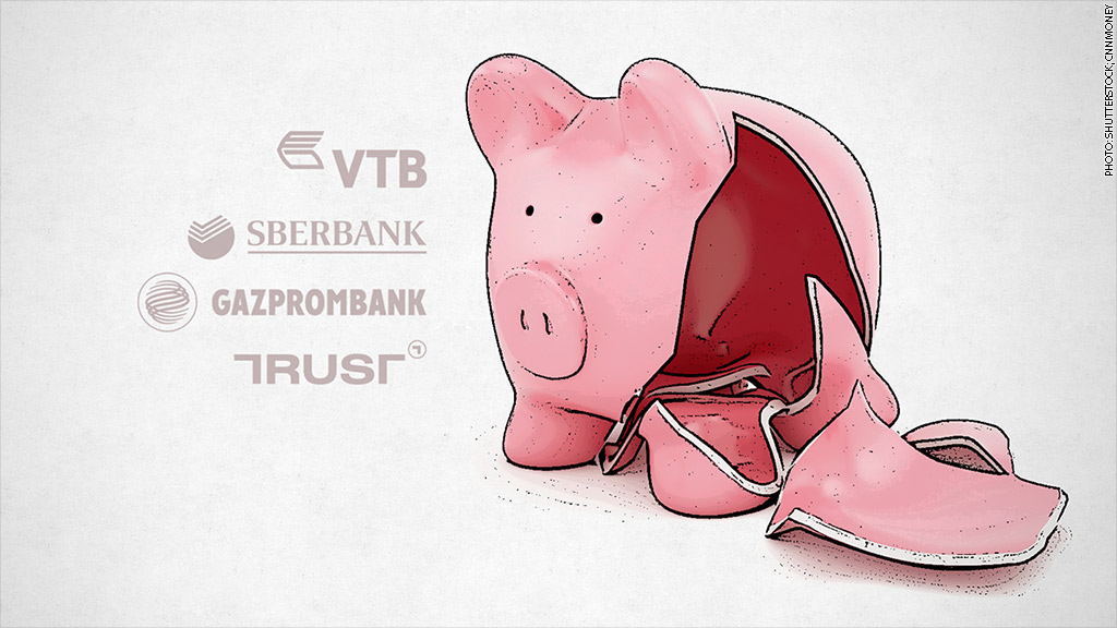 cash strapped russian banks