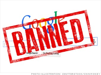 banned china google