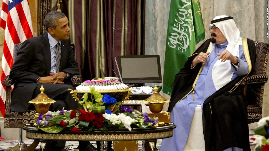 obama saudi king abdullah
