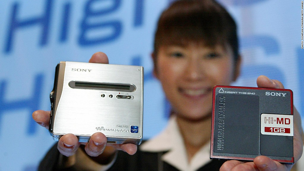 sony minidisc failed innovation In 1992, sony launched what they thought would be an innovation to  the  innovation of the minidisc failed because of a misinterpretation of.