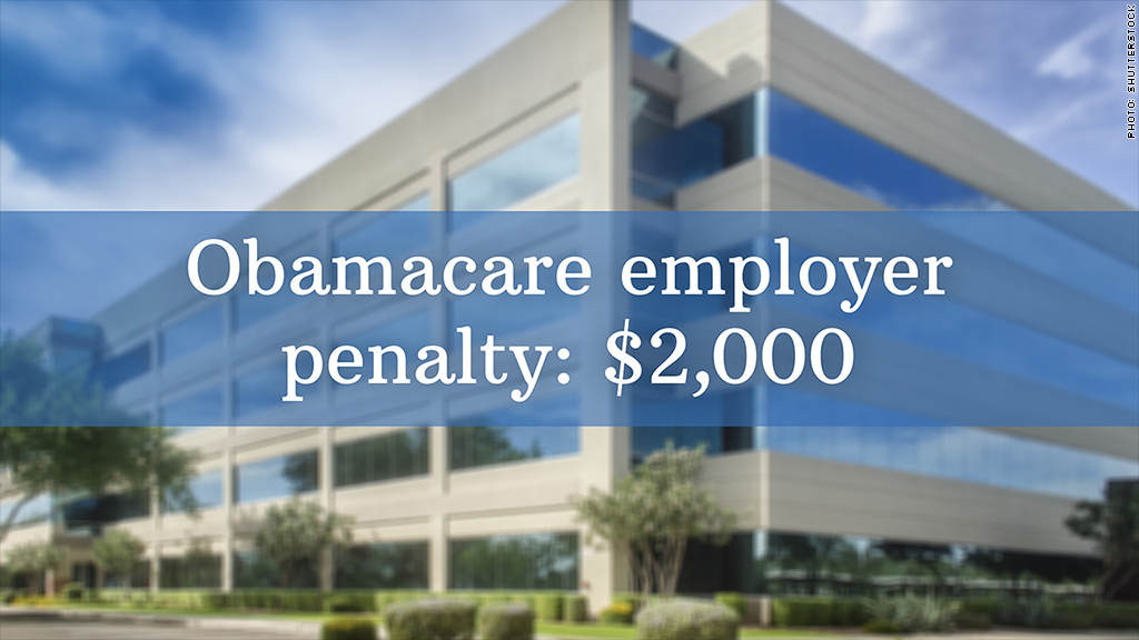 obamacare employer penalty