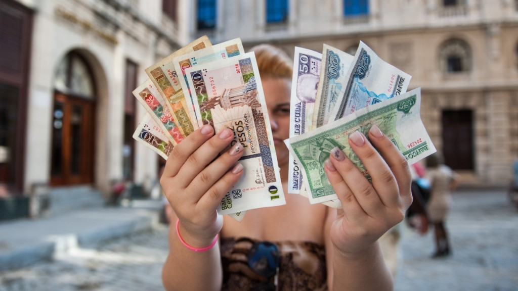 Did you know Cuba has two currencies?