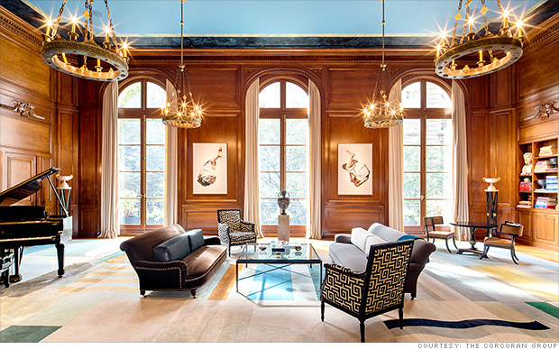 Carhart mansion priciest new york city homes on sale for New york luxury homes