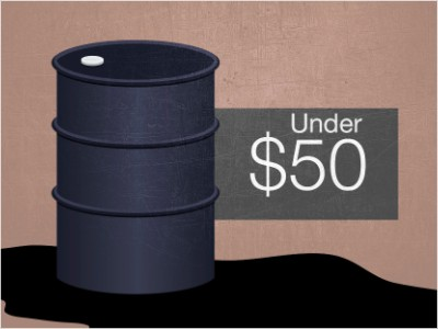 oil prices under 50