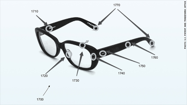 Apple patenta un iPhone flexible y unas gafas inteligentes