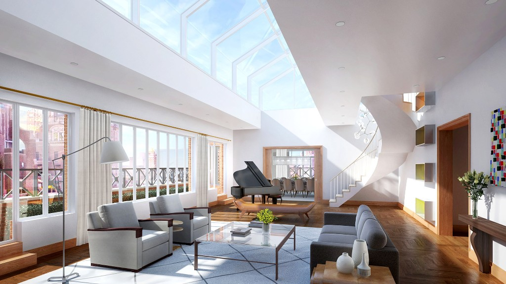 New york penthouses for sale luxury central park luxury for Manhattan house apartments for sale