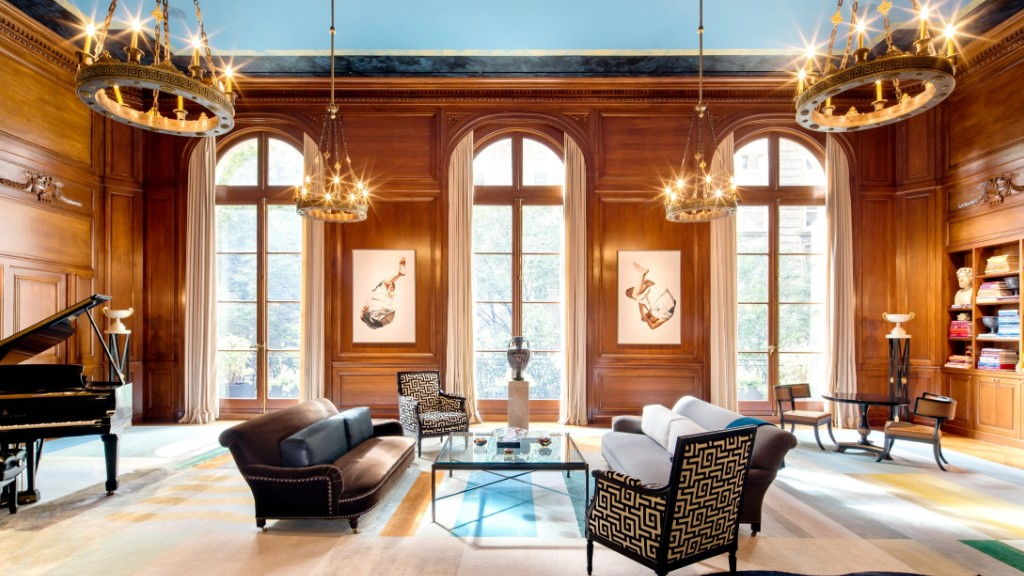 Carhart mansion priciest new york city homes on sale for Manhattan mansions for sale