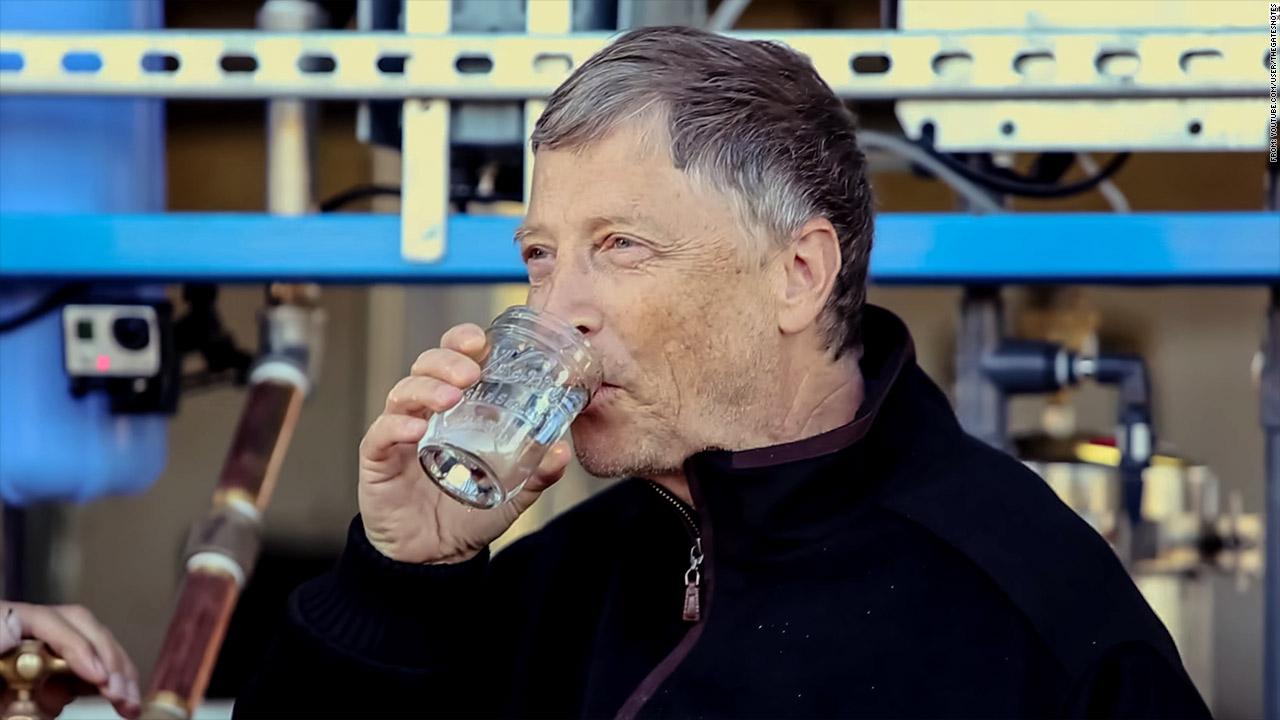 Bill Gates' poop water machine gets a test run